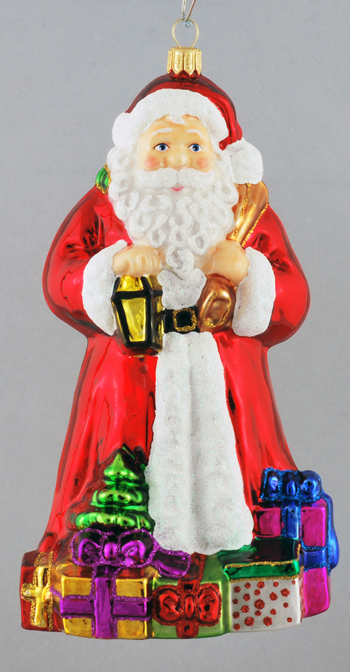 CLASSIC SANTA WITH GIFTS