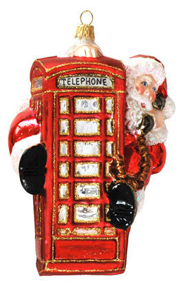 SANTA TELEPHONE BOX