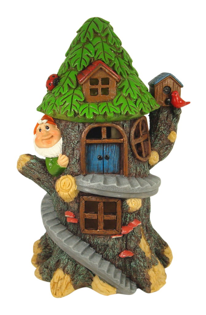 SOLAR GNOME TREE HOUSE