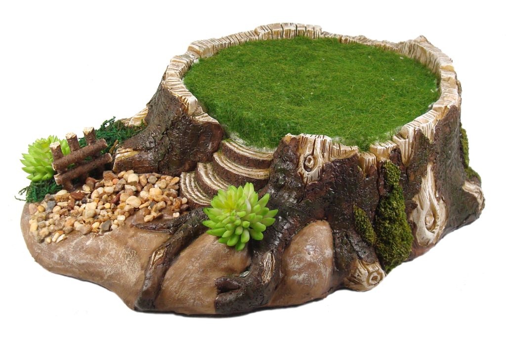FAIRY GARDEN TREE BASE
