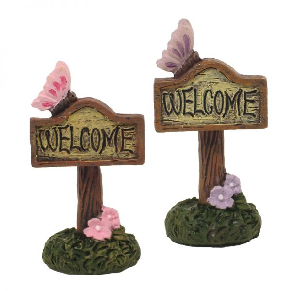 MINI GARDEN WELCOME SIGN